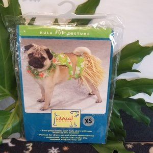 NWT XS Posh Pet Hula Pup Costume by Casual Canine